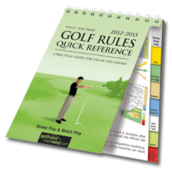 Golf Rules – Provisional ball